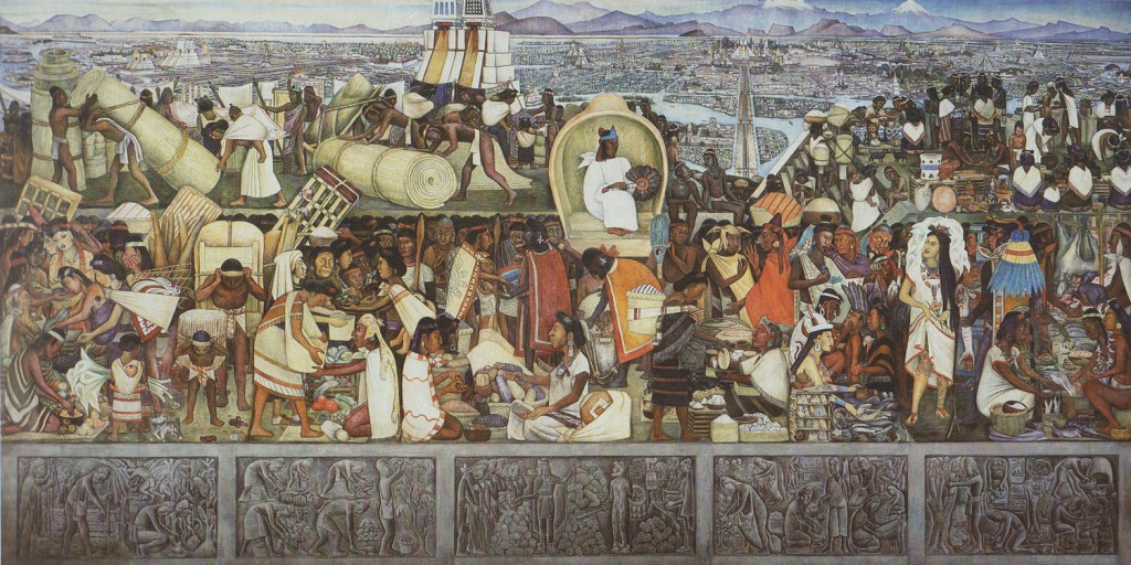 The Great City of Tenochtitlan_Diego Rivera